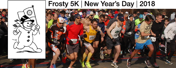 Frosty 5K New Year's Day 2018