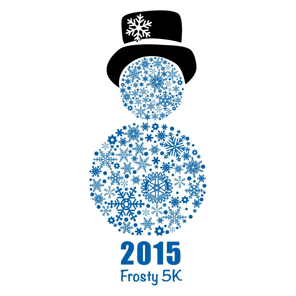 Frosty 5K logo